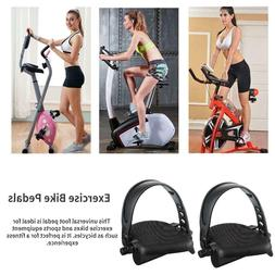 Exercise Bike Pedals with Straps Upright Recumbent Bicycle P