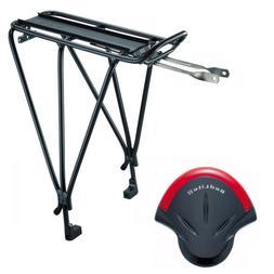 Topeak Explorer Bicycle Rack with Disc Brake Mounts and RedL