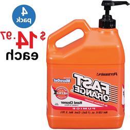 Permatex Fast Orange, Pumice Lotion Hand Cleaner - 1 Gallon