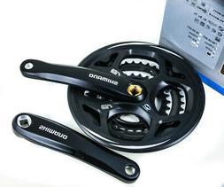 Shimano FC-M311 Altus Square Taper 3 x 7/8s Bike Crankset 17
