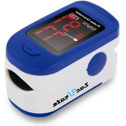 Fingertip Pulse Oximeter LED Display Blood Oxygen Saturation