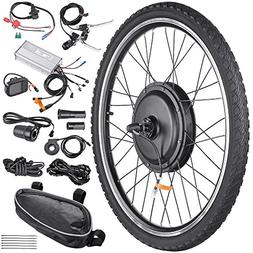"""AW 26""""x1.75"""" Front Wheel Electric Bicycle Motor Kit 48V 1000"""