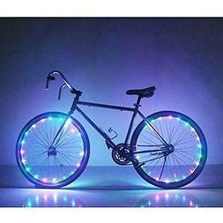 Soondar GEC0041 Bicycle Bike Rim Lights, LED, Multicolored