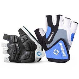 INBIKE 5mm Gel Pad Half Finger Bike Bicycle Cycling Gloves B