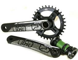 FSA Gravity Grid MEGAExo Mega Tooth Mountain Bike Crankset