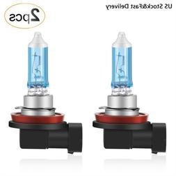 AGPTEK H11 Halogen Headlight Bulb, Foglight PGJ19-2 12V/55W