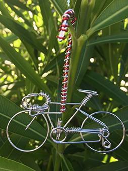 Handmade Christmas Road Bike Ornaments Decorations w/ Candy