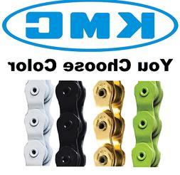 "KMC HL710L Pintle HL Half Link Strong Bike Chain 1/2X1/8"" BM"