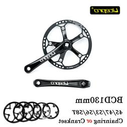 Litepro Hollow CNC AL7075 Folding Road Bike Chainring Cranks