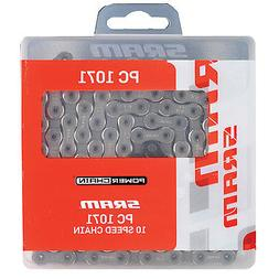 SRAM PC 1071 Hollow Pin P-Lock 10-Speed 114L Bicycle Chain