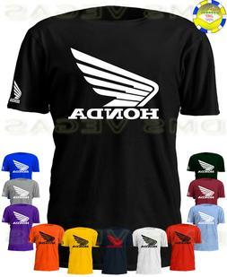 Honda Racing Motorcycle ATV Wing Logo Tee T-Shirt Men Unisex