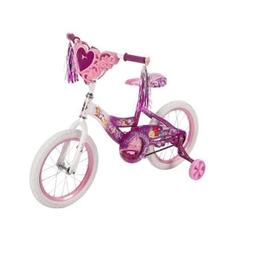 16 Huffy Girls' Disney Princess Bike with Training Wheels, H