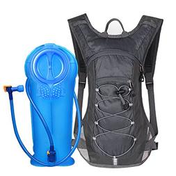 Unigear Hydration Pack Backpack with 70 oz 2L Water Bladder