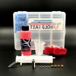 Shimano Hydraulic Brake Bleed Kits TONS OF OPTIONS w/ Funnel