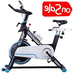 HARISON Indoor Cycle Bike Belt Driven, Stationary Exercise B
