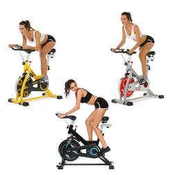 ANCHEER Indoor Cycling Bike, Belt Drive Indoor Exercise Bike