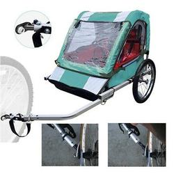 Black InStep Bicycle Bike Kids Trailer Coupler Angled Schwin
