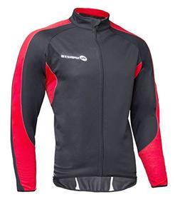 sponeed Men's Jacket Windproof Bicycle Clothing Thermal Flee