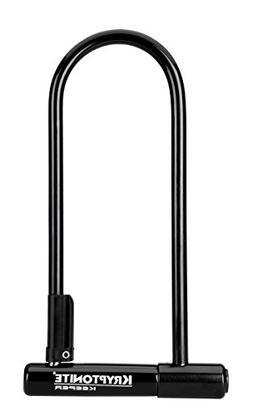 Kryptonite Keeper 12 LS Heavy Duty Bicycle U-Lock with Brack