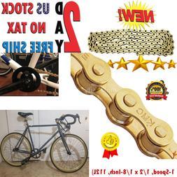 KMC Z410 Bicycle Chain 1 Speed 1/2 x 1/8-Inch 112L  Parts Bi