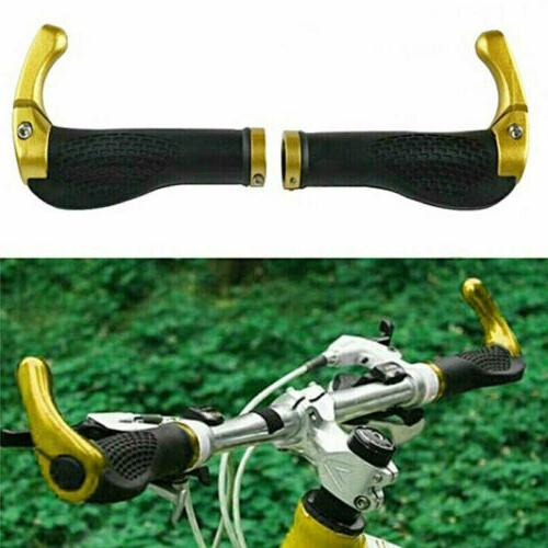 1 Pair Bicycle Handlebar Grips Lock On Ends