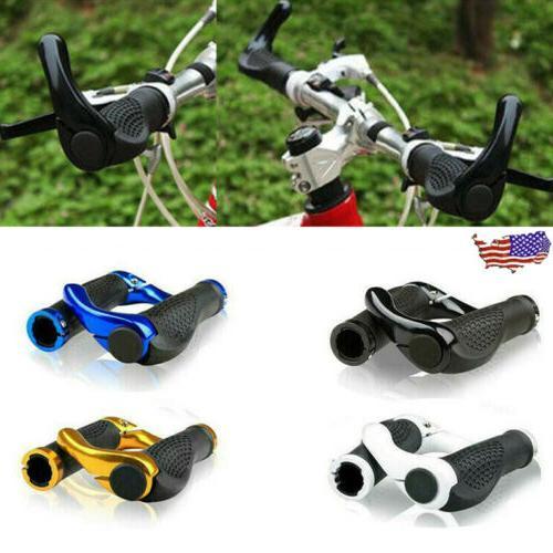1 pair bicycle handlebar grips double lock