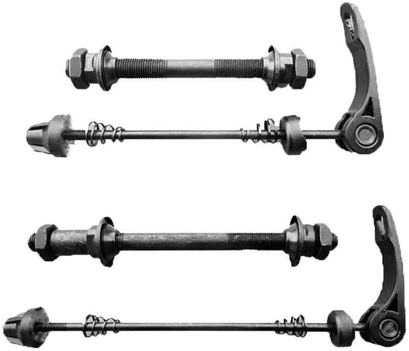 1 pair mtb quick release bicycle hub