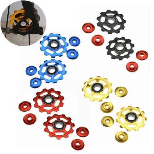 2pcs Aluminum Cycle Jockey Wheel