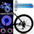 32 LED Patterns Cycling Bikes Bicycles Rainbow Wheel Signal