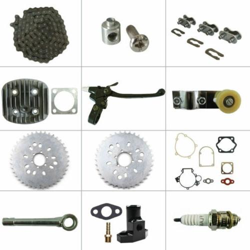 For 66cc 80cc 2-Stroke Engine Motorized Bicycle Bike 415 Cha