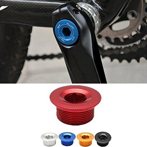 Bike Bicycle Parts Crankset Crank Arm Fixing Bolt Screw Cover