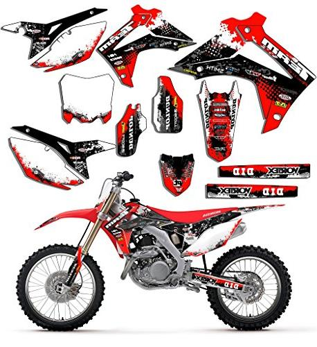 Team Racing Graphics kit compatible with Honda 2004-2010 CRF 80//100 SCATTER
