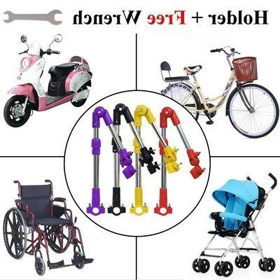 Moped Bike Bicycle Mount Holder For Sunny RaIn Umbrella ED