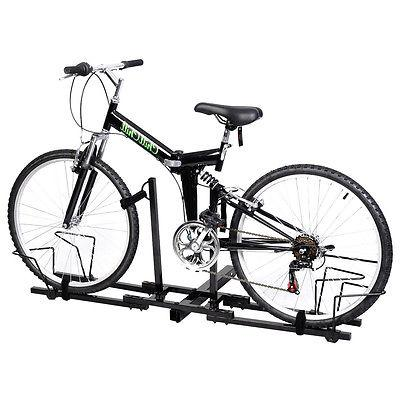 2 Bike Bicycle Carrier Hitch Receiver 2''  Heavy Duty Mount