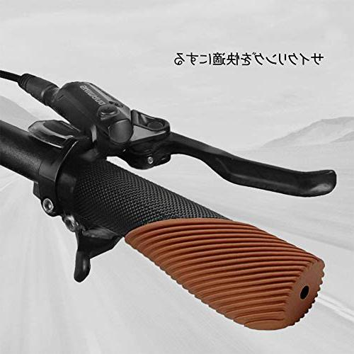 TOPCABIN grip design rubber bike apply