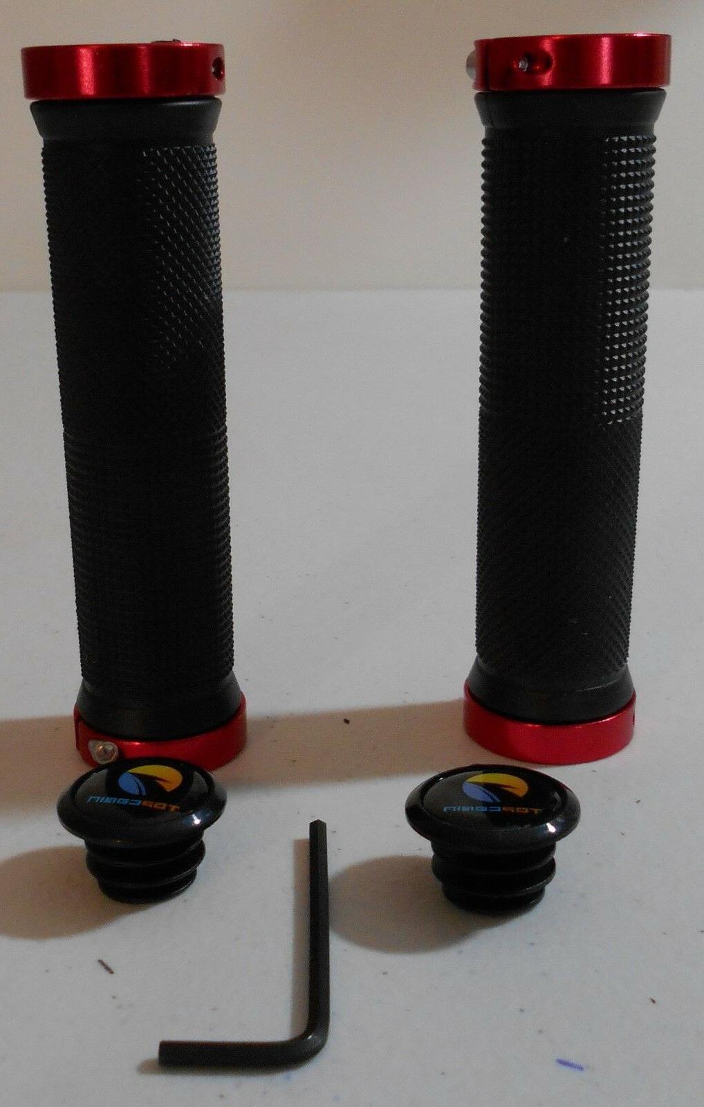 TOPCABIN Bicycle Handlebar Grips Double Lock Anti-Slip Desig