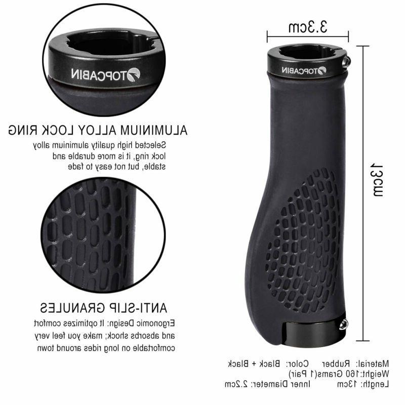 TOPCABIN Bike Grips,Ergonomic Surface