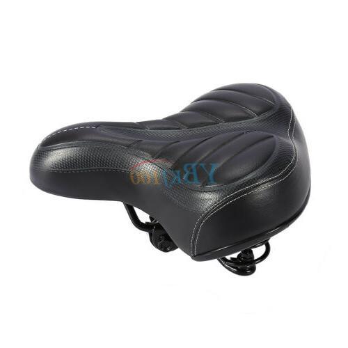 Comfort Big Bum Bike Extra Sporty Soft Saddle Seat