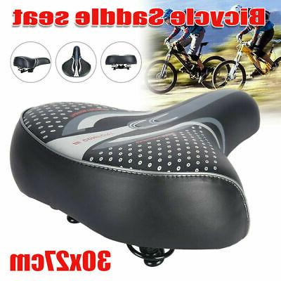 Comfort Wide Big Bum Bike Bicycle Cushion Seat Extra Sporty