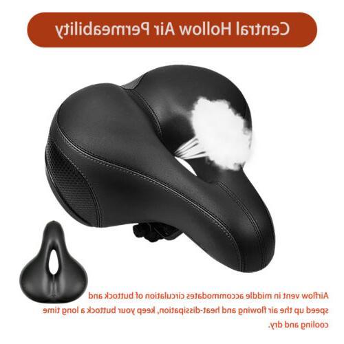 Comfort Wide Soft Gel Saddle Bicycle Cushion