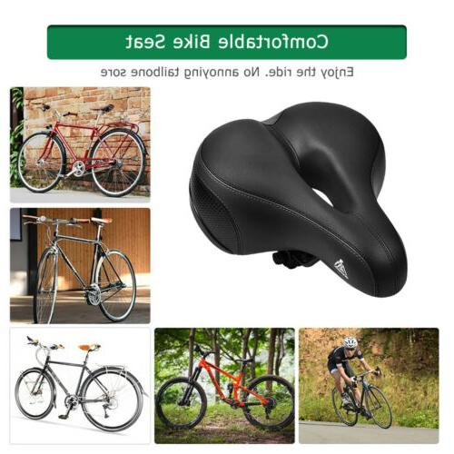 Comfort Wide Bike Seat Cushion Soft Road Bicycle Saddle