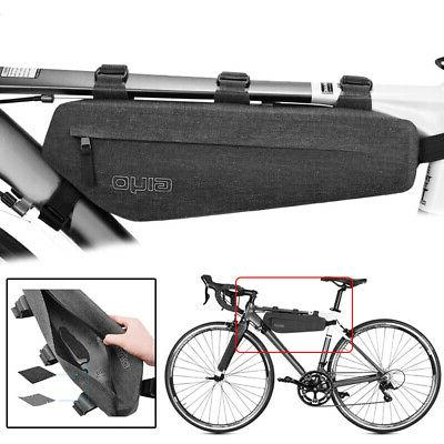 Cycling Bicycle Bikes Top Frame Front Pannier Tube Bags Simp