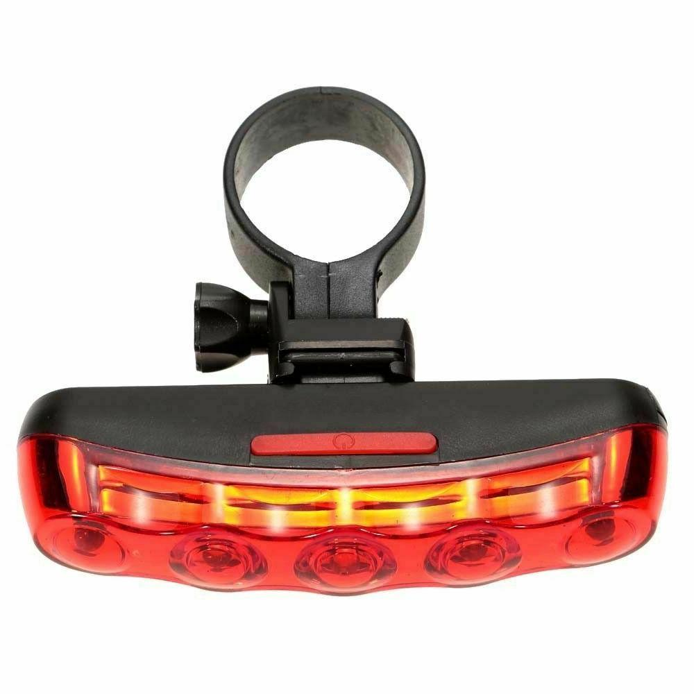 Cycling LED Tail Light Seatpost Lamp Battery Powered Bicycle