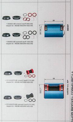 FSA Gossamer Pro EVO ABS Crankset 172.5mm NEW
