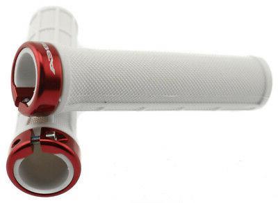 ORBEA Handlebar White/Red W/Plugs Pair