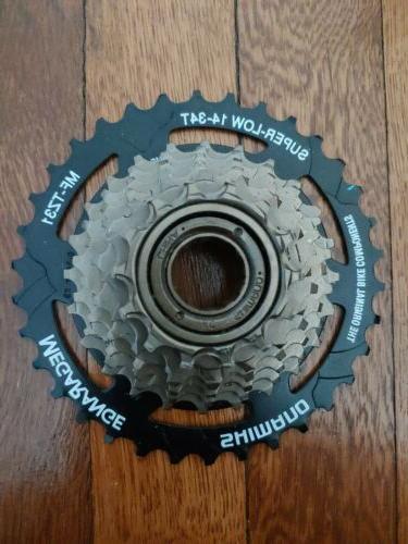 mf tz31 tourney freewheel