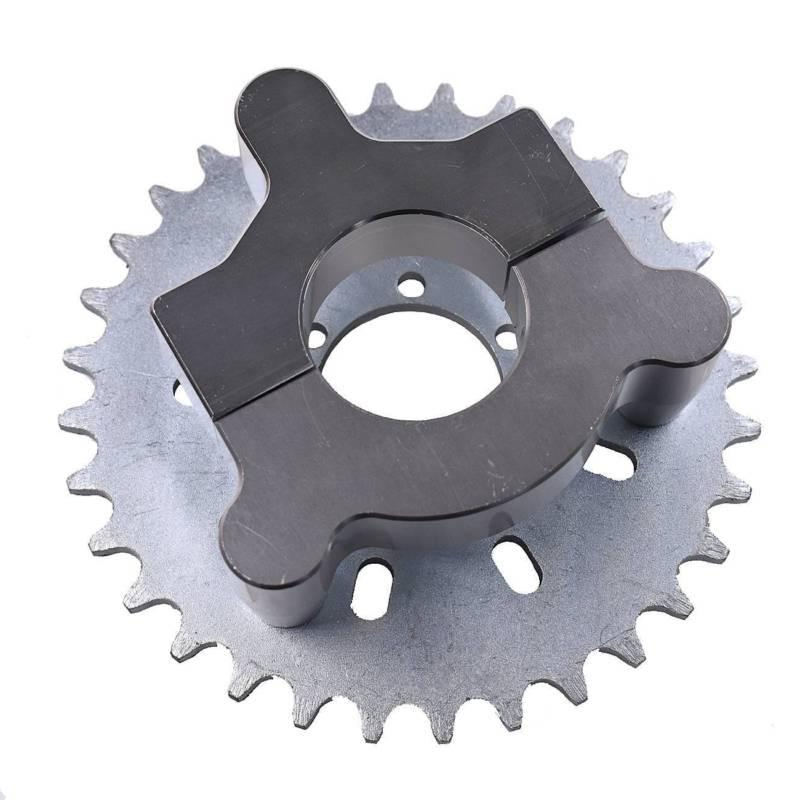 "Motorized Bike 32-44T Sprocket ,1.5"" Adapter 415 Chain 80cc 2 Bicycle"