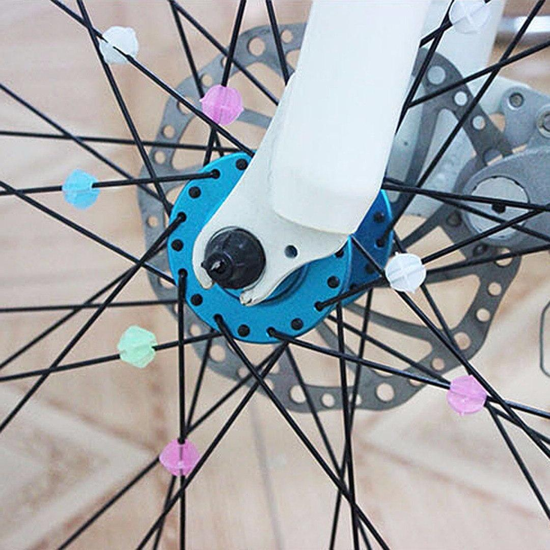 New Spoke Beads Multi Spoke Children Kids Clip Decoration Bicycle