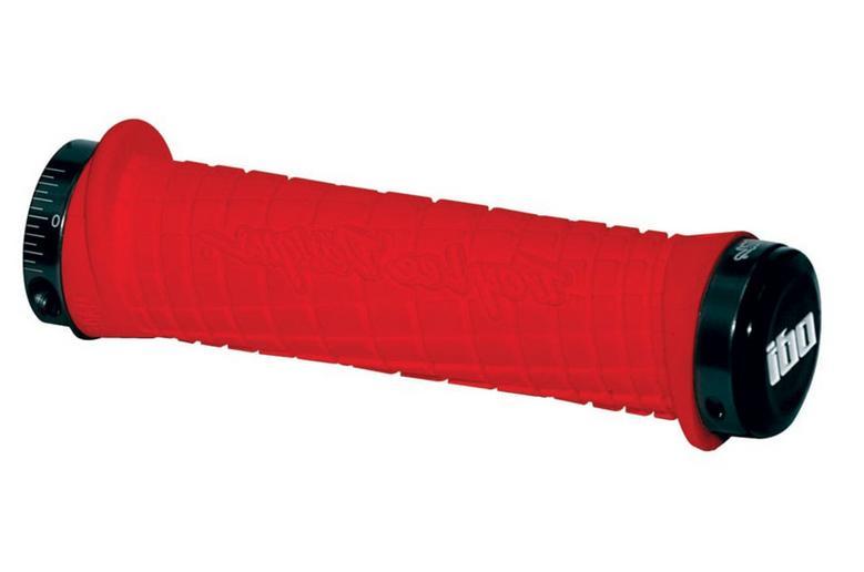 ODI TROY LEE DESIGNS TLD BLACK RED LOCK-ON MOUNTAIN BIKE GRI