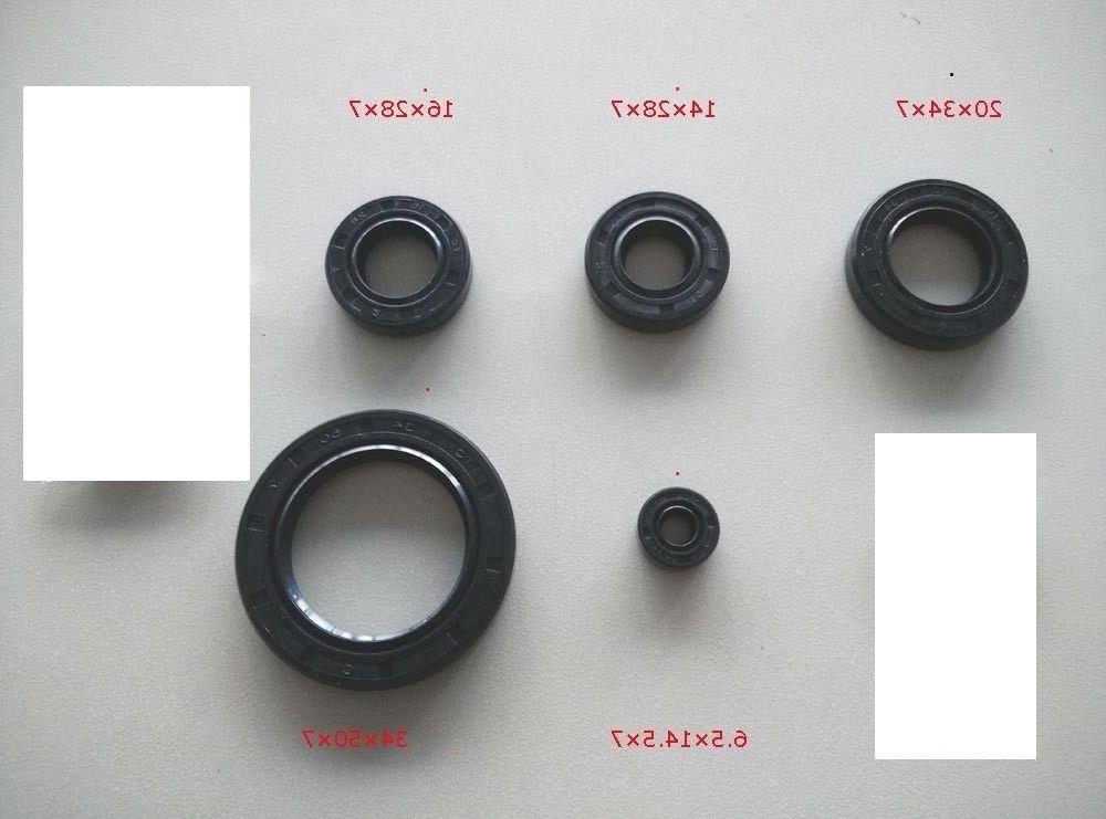 oil seal kit set fit cg engine
